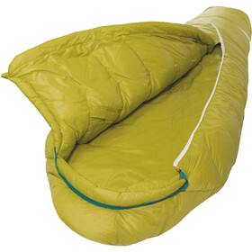 Grüezi-Bag Biopod DownWool Sleeping Bag Kids citron